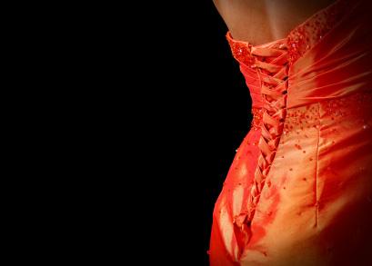 Elegancka suknia wieczorowa - czerwona
